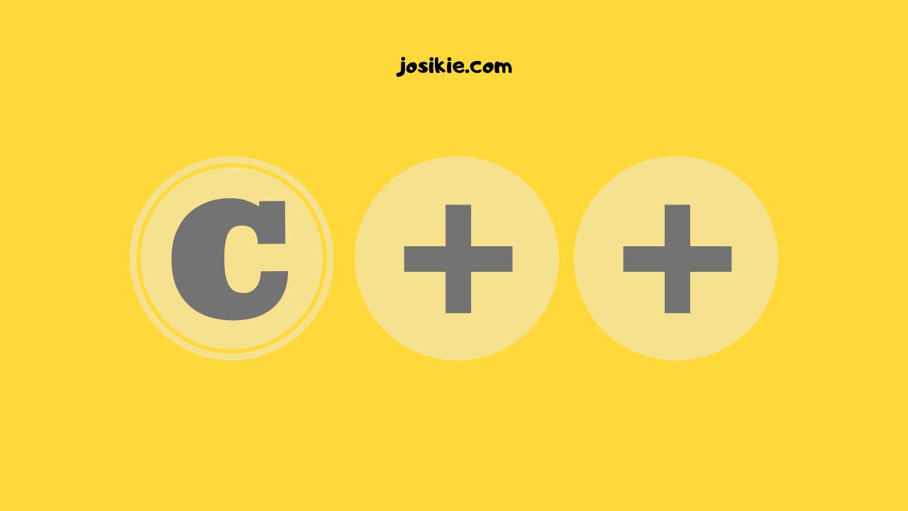 dasar pemrograman C++