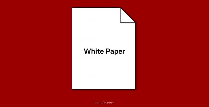 Apa Itu White Paper Crypto?