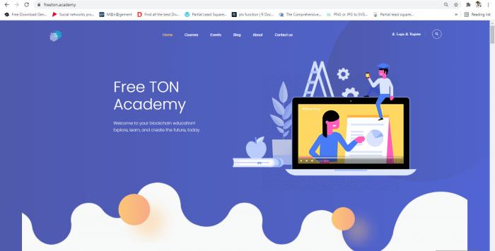 Belajar Blockchain di Free TON Academy